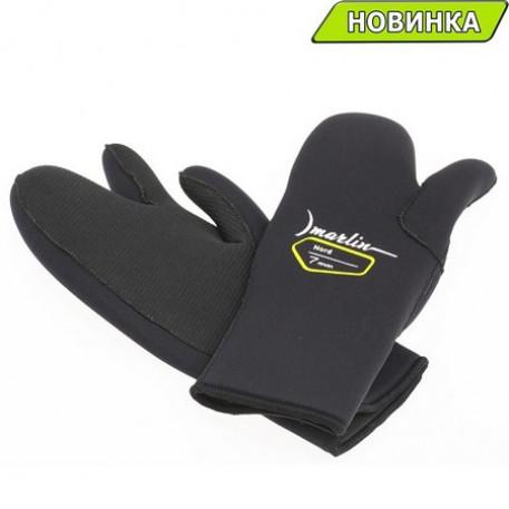 Перчатки Marlin NORD 3-х палые 7 мм