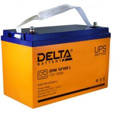 Аккумуляторная батарея Delta DTM 12100 L (12V / 100Ah)