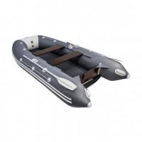 Лодка ПВХ Таймень 3400 НДНД Графит/светло-серый