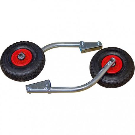Транцевые колеса под НДНД М (быстросъемные)