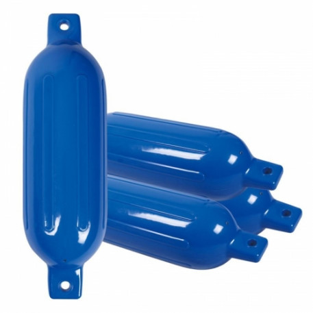 Кранец 407х117мм синий