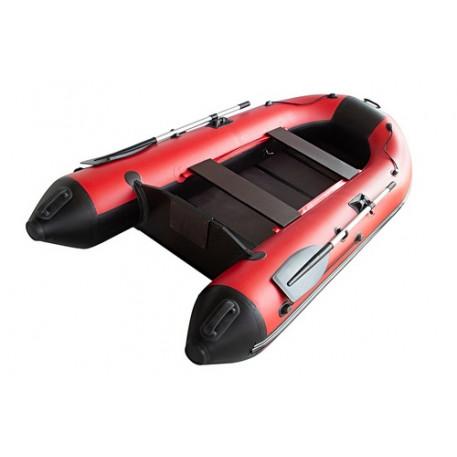 Лодка ПВХ Муссон 2800 красно-черный