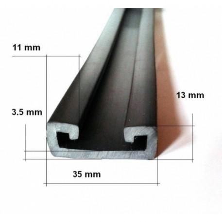 Баджер Профиль PVC на транец лодки 35мм