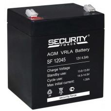 Аккумуляторная Батарея Security Force 12v/ 4,5ah