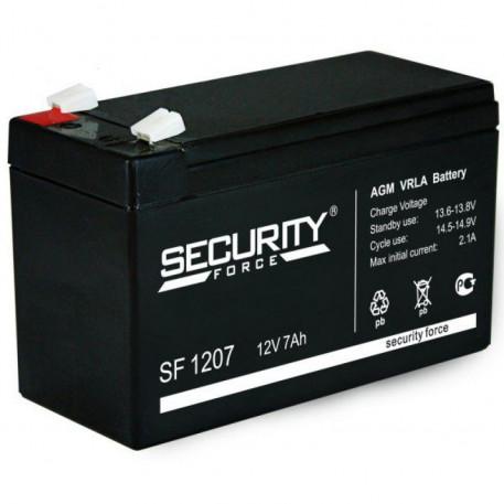 Аккумуляторная Батарея Security Force 12v/ 7ah