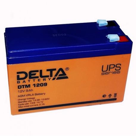 Аккумуляторная батарея Delta DTM 1209 (12V / 9Ah)