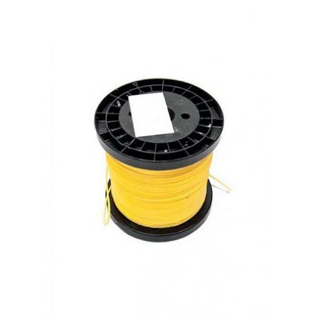 Линь DYNEEMA желтый (НАГРУЗКА 100-150КГ), 1.3mm
